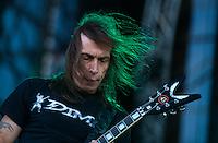 CIUDAD DE MEXICO, D.F. 25 de octubre.- El grupo de rock Overkill el festival de música Hell and Heaven en el Autódromo Hermanos Rodríguez de la Ciudad de México, el 25 de octubre de 2014.  FOTO: ALEJANDRO MELÉNDEZ