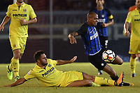 Victor Ruiz Villarreal, Joao Mario Inter <br /> San Benedetto del Tronto 06-08-2017 <br /> Football Friendly Match  <br /> Inter - Villarreal Foto Andrea Staccioli Insidefoto