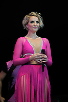LONDON, ENGLAND - JULY 10: Claire Richards of 'Steps' performing at Kew the Music, Kew Gardens on July 10, 2018 in London, England.<br /> CAP/MAR<br /> &copy;MAR/Capital Pictures