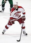 Alex Fallstrom (Harvard - 16) - The Harvard University Crimson defeated the Dartmouth College Big Green 4-1 (EN) on Monday, January 18, 2010, at Bright Hockey Center in Cambridge, Massachusetts.