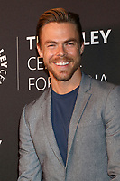 "LOS ANGELES - OCT 25:  Derek Hough at ""The Paley Honors: A Gala Tribute to Music on Television"" at the Beverly Wilshire Hotel on October 25, 2018 in Beverly Hills, CA"