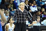 25 November 2012: UNC head coach Sylvia Hatchell. The University of North Carolina Tar Heels played the UNC Asheville Bulldogs at Carmichael Arena in Chapel Hill, North Carolina in an NCAA Division I Women's Basketball game. UNC won the game 101-42.