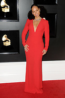 LOS ANGELES - FEB 10:  Alicia Keys at the 61st Grammy Awards at the Staples Center on February 10, 2019 in Los Angeles, CA