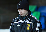 St Johnstone v Partick Thistle....17.01.15  SPFL<br /> 4th official Willie Collum was the subject of abuse from the Partick fans<br /> Picture by Graeme Hart.<br /> Copyright Perthshire Picture Agency<br /> Tel: 01738 623350  Mobile: 07990 594431