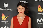 Andrea del Rio attends to the Feroz Awards 2017 in Madrid, Spain. January 23, 2017. (ALTERPHOTOS/BorjaB.Hojas)