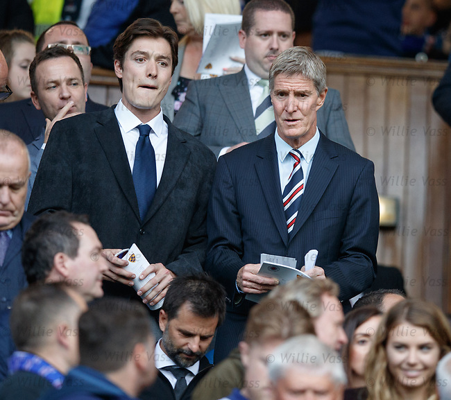 09.08.18 Rangers v Maribor: Richard Gough