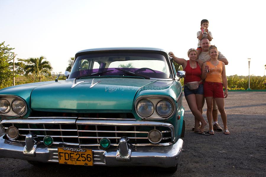 Cuban family proud of its car