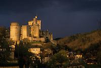 Europe/France/Aquitaine/47/Lot-et-Garonne/Fumel : Le château de Bonaguil (Classé Monument historique) - XII°, XV°, XVI° et XVIII° siècles