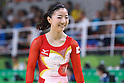 Asuka Teramoto (JPN), <br /> AUGUST 7, 2016 - Artistic Gymnastics : <br /> Women's Qualification <br /> Balance Beam <br /> at Rio Olympic Arena <br /> during the Rio 2016 Olympic Games in Rio de Janeiro, Brazil. <br /> (Photo by Sho Tamura/AFLO SPORT)