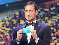 Francesco Totti has drawn Germany 30 11 2019 UEFA EURO2020 Draw, Romexpo Bucharest<br /> Sorteggio Europei Calcio 2020 <br /> Photo Marc Schueler/ Imago / Insidefoto