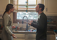Aftermath (2017)<br /> Christina (Maggie Grace) and Jake (Scoot McNairy) <br /> *Filmstill - Editorial Use Only*<br /> CAP/FB<br /> Image supplied by Capital Pictures
