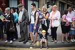 © Joel Goodman - 07973 332324 . 23/08/2013 . Manchester , UK . 2013 Gay Pride Parade through Manchester City Centre . This year's theme is 1980s . Photo credit : Joel Goodman