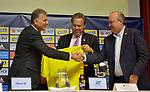 Carlos Queiroz fue presentado como nuevo director técnico de la Selección Colombia.
