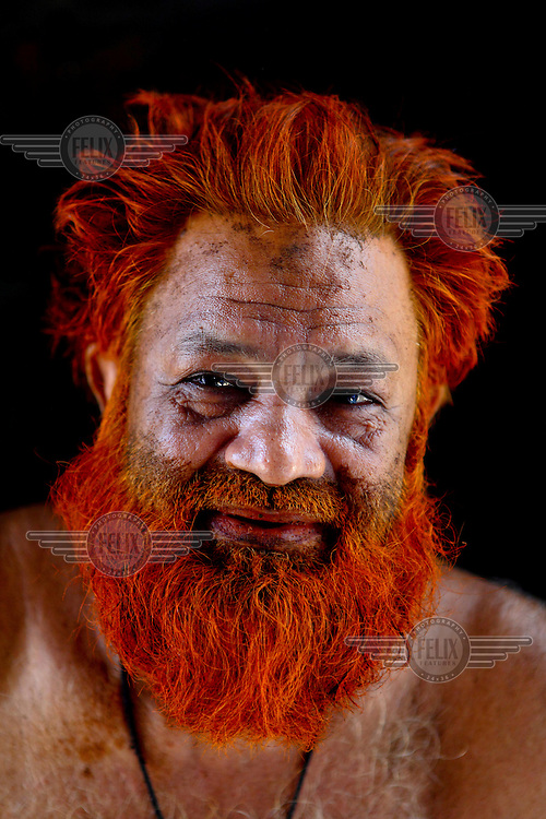 &lsquo;I love color more than grey. It&rsquo;s my fashion. Ha ha ha&rsquo; &ndash; Mohammad Oliwho.<br /> <br /> It is very common in Bangladesh to see older people with dyed orange hair, men with orange beards or orange moustaches and women with orange hair. The dye used is from the flowering Henna plant. The practice comes from the widely held belief that the Prophet Muhammad dyed his beard and hair. It is also common among people returning from Hajj. Some Muslims believe that henna is the only dye they are free to use for colouring their hair.