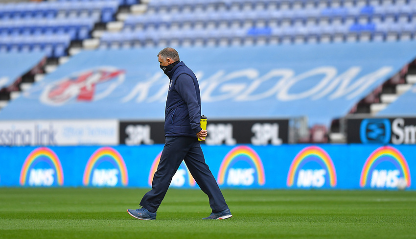 Blackburn Rovers' Manager Tony Mowbray<br /> <br /> Photographer Dave Howarth/CameraSport<br /> <br /> The EFL Sky Bet Championship - Wigan Athletic v Blackburn Rovers - Saturday 27th June 2020 - DW Stadium - Wigan<br /> <br /> World Copyright © 2020 CameraSport. All rights reserved. 43 Linden Ave. Countesthorpe. Leicester. England. LE8 5PG - Tel: +44 (0) 116 277 4147 - admin@camerasport.com - www.camerasport.com