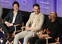 "HOLLYWOOD, CA - MARCH 17:  Kenneth Choi, Ryan Guzman, Rockmond Dunbar at PaleyFest 2019 - Fox's ""9-1-1"" panel at the Dolby Theatre on March 17, 2019 in Hollywood, California. (Photo by Scott Kirkland/Fox/PictureGroup)"