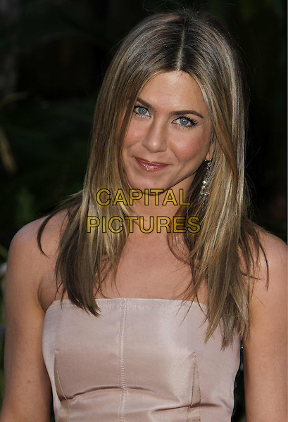 """JENNIFER ANISTON.""""The Switch"""" Los Angeles Premiere held at Arclight Cinemas, Hollywood, California, USA..August 16th, 2010.half length strapless beige nude  .CAP/ADM/CH.©Charles Harris/AdMedia/Capital Pictures"""