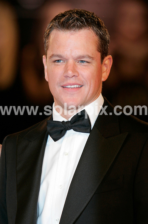 **ALL ROUND PICTURES FROM SOLARPIX.COM**.**SYNDICATION RIGHTS FOR UK AND SPAIN ONLY**.The Informant! premiere during the 66th Venice Film Festival, Venice, Italy. 7 September 2009..This pic: Matt Damon..JOB REF: 9896 CPR (Heinz)       DATE: 07_09_2009.**MUST CREDIT SOLARPIX.COM OR DOUBLE FEE WILL BE CHARGED**.**MUST NOTIFY SOLARPIX OF ONLINE USAGE**.**CALL US ON: +34 952 811 768 or LOW RATE FROM UK 0844 617 7637**