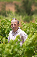 Sylvain Fadat Domaine d'Aupilhac. Montpeyroux. Languedoc. Owner winemaker. France. Europe. Vineyard.