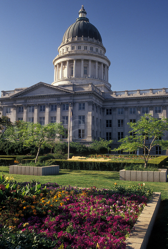 State Capitol, State House, Salt Lake City, UT, Utah, The State Capitol Building in Salt Lake City.