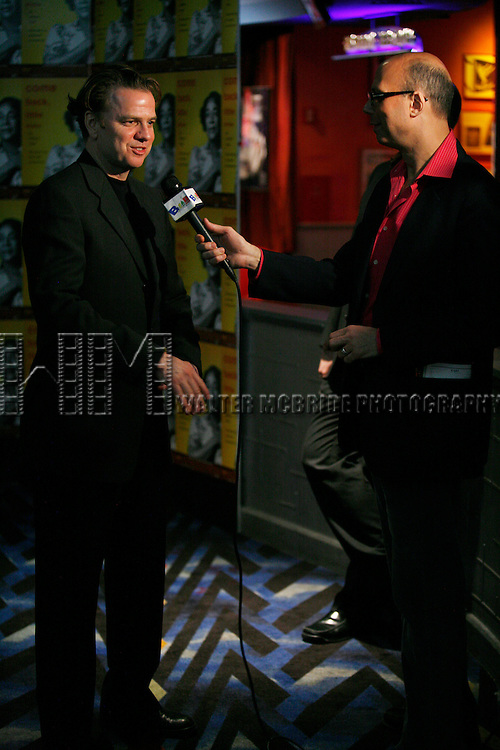 Kevin Anderson & Richie Ridge.attending the Opening Performance After Party for the Manhattan Theatre Club's production of COME BACK, LITTLE SHEBA at Planet Hollywood in New York City..January 24, 2008.© Walter McBride /