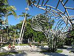 Soundscape and Lincoln Park in Miami Beach, Florida