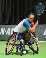 Rotterdam, The Netherlands, 14 Februari 2019, ABNAMRO World Tennis Tournament, Ahoy, first round wheelchair singles: Tom Egberink (NED),<br /> Photo: www.tennisimages.com/Henk Koster