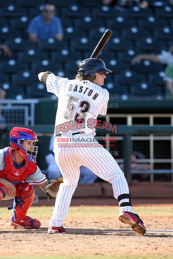 Jon Gaston - Peoria Saguaros, 2009 Arizona Fall League.Photo by:  Bill Mitchell/Four Seam Images..