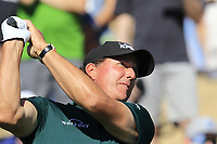 Phil Mickelson (USA) tees off the 7th tee during Saturday's Round 3 of the Waste Management Phoenix Open 2018 held on the TPC Scottsdale Stadium Course, Scottsdale, Arizona, USA. 3rd February 2018.<br /> Picture: Eoin Clarke | Golffile<br /> <br /> <br /> All photos usage must carry mandatory copyright credit (&copy; Golffile | Eoin Clarke)