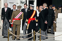 Prime Minister Mariano Rajoy attend the traditional 'Pascua Militar' ceremony at The Royal Palace. January 06, 2013. (ALTERPHOTOS/Caro Marin)