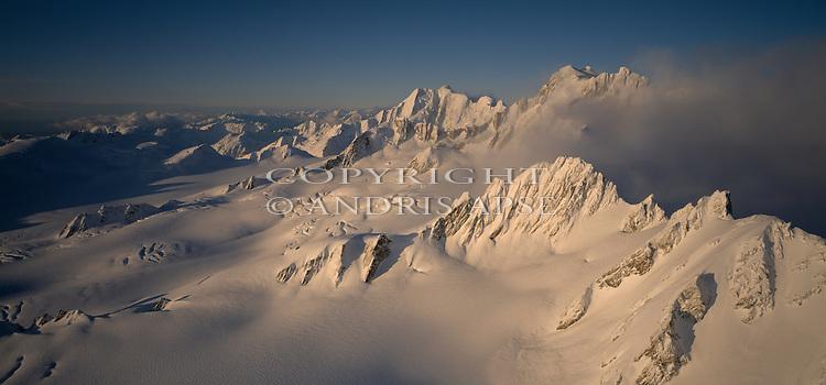 Upper Franz Josef Glacier. Westland National Park. New Zealand.