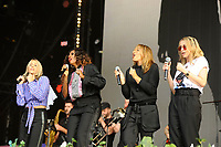 LONDON, ENGLAND - SEPTEMBER 9: Nicole Appleton, Shaznay Lewis, Melanie Blatt and Natalie Appleton of 'All Saints' performing at BBC Radio 2 Live in Hyde Park, on September 9, 2018 in London, England.<br /> CAP/MAR<br /> &copy;MAR/Capital Pictures
