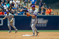 University of Washington Huskies AJ Graffanino (11) in action against the Cal State Fullerton Titans at Goodwin Field on June 08, 2018 in Fullerton, California. The University of Washington Huskies defeated the Cal State Fullerton Titans 8-5. (Donn Parris/Four Seam Images)