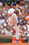 1 July 2005: Glendon Rusch, pitcher for the Chicago Cubs, on the mound in relief against the Washington Nationals. The visiting Nationals defeated the Cubs 4-3 at Wrigley Field in Chicago.  Mandatory Photo Credit: Ed Wolfstein