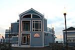 Ruby's Restaurant at end of Oceanside pier