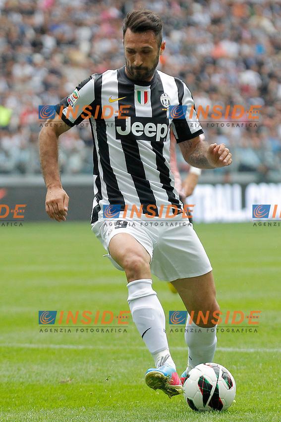 Mirko Vucinic Juventus, Torino 5/5/2013 .Juventus Stadium.Football Calcio 2012/2013 Serie A.Juventus Vs Palermo.Foto Marco Bertorello Insidefoto