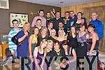 Nollaig McCarthy, seated second right from Lixnaw celebrated her 21st birthday with her family and friends at the dew Drop Inn bar Lixnaw on S.Saturday night. .   Copyright Kerry's Eye 2008