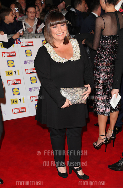 Dawn French arriving for the 2012 Pride of Britain Awards, at the Grosvenor House Hotel, London. 29/10/2012 Picture by: Alexandra Glen / Featureflash