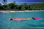 Snorkeling, Megan's Bay, St. Thomas, U.S. Virgin Islands