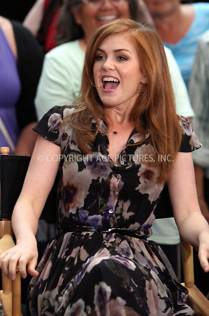 WWW.ACEPIXS.COM....September 5 2012, New York City....Actress Isla Fisher made an appearance on Good Morning America on September 5 2012 in New York City....By Line: Zelig Shaul/ACE Pictures......ACE Pictures, Inc...tel: 646 769 0430..Email: info@acepixs.com..www.acepixs.com