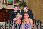 Marian, Sarah, Sean and Jim Dee take time for a picture at the Beale GAA Social in The Listowel Arms Hotel on Friday night.   Copyright Kerry's Eye 2008