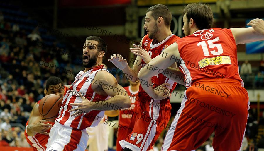 Branko Lazic Crvena Zvezda - Cedevita kosarka ABA regionalna liga 4.1.1016. Januar 4. 2016. (credit image & photo: Pedja Milosavljevic / STARSPORT)