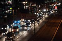 SÃO PAULO-SP-12,09,2014- TRÂNSITO - O Motorista enfrenta lentdão na sentido. Região Oeste da cidade de São Paulo,na noite dessa Sexta-Feira,12(Foto:Kevin David/Brazil Photo Press)