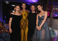 """LOS ANGELES - JUNE 13:  Rachel Kelly, Stephanie Corneliussen, Creator / Executive Producer / Writer / Director Noah Hawley and Lauren Tsai attend the party at Boulevard3 following the Season 3 Los Angeles Premiere Event for FX's """"Legion"""" on June 13, 2019 in Los Angeles, California. (Photo by Frank Micelotta/FX/PictureGroup)"""