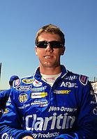 Apr 25, 2009; Talladega, AL, USA; NASCAR Sprint Cup Series driver Carl Edwards during qualifying for the Aarons 499 at Talladega Superspeedway. Mandatory Credit: Mark J. Rebilas-