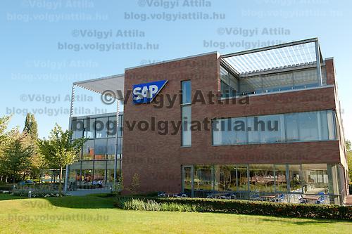 SAP portrait shooting at SAP Hungary Headquarters in Graphisoft Park, Budapest, Hungary on September 06, 2011. ATTILA VOLGYI