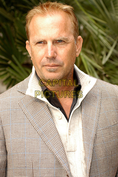 "KEVIN COSTNER.Photocall for ""Modern West"", Kevin Costner band, Hotel De Russie, Rome, Italy..October 24th, 2007.half length beige jacket .CAP/CAV.©Luca Cavallari/Capital Pictures."