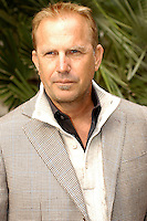 """KEVIN COSTNER.Photocall for """"Modern West"""", Kevin Costner band, Hotel De Russie, Rome, Italy..October 24th, 2007.half length beige jacket .CAP/CAV.©Luca Cavallari/Capital Pictures."""