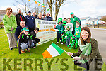 Former Kerry rose Mary Hickey launched  the Rathmore St Patricks Day parade on Saturday Mary will be Grand Marshall at this years parade