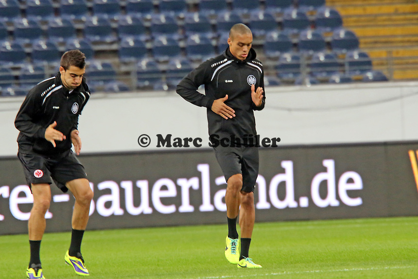 Bamba Anderson (Eintracht) - Eintracht Europa League Training